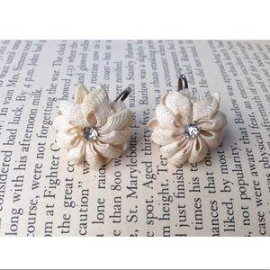 Vintage 50s earrings, 1950s jewelry